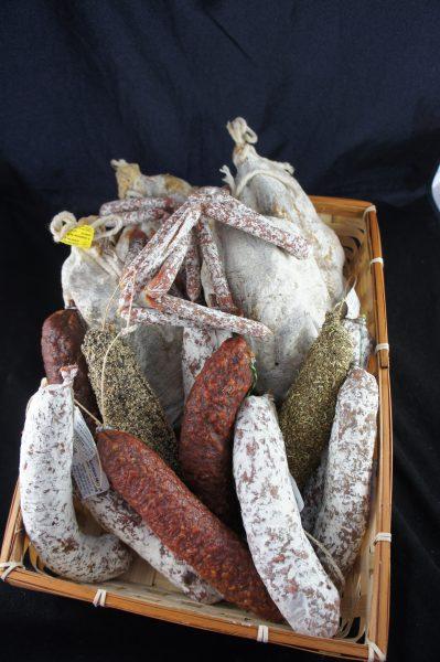 Palais des Saveurs - Lot variétés saucissons & noix